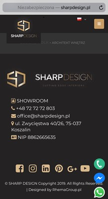 SHARP DESIGN